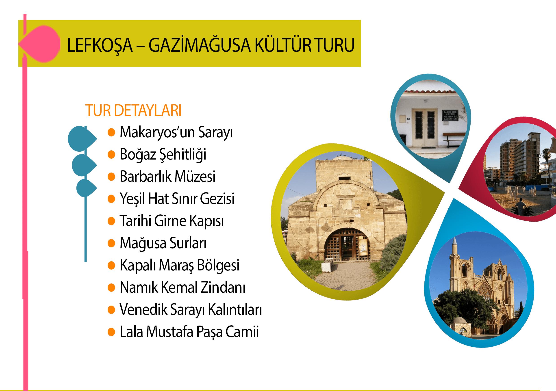 Lefkoşa & Mağusa Kültür Turu